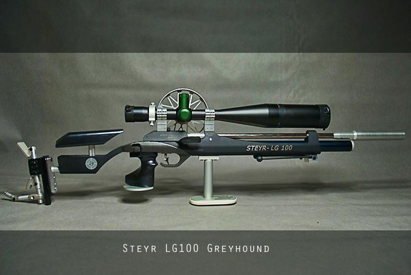 Steyr LG100 Grey Hound